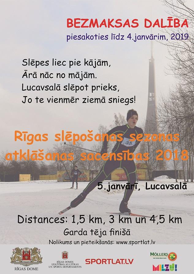 Lucavsalas slēpošana