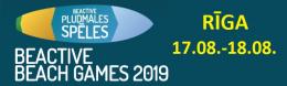 BeActive Pludmales spēles 2019
