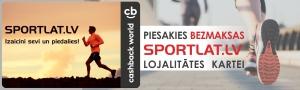 Piesakies Sportlat lojalitātes CashBack kartei