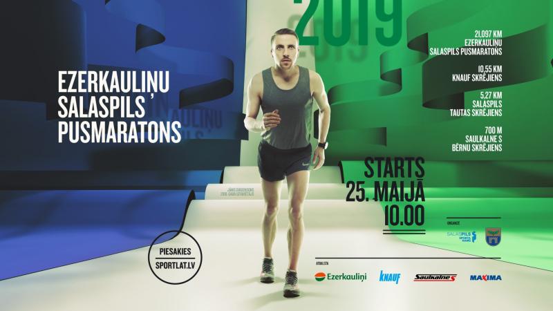 Salaspils pusmaratons 2019