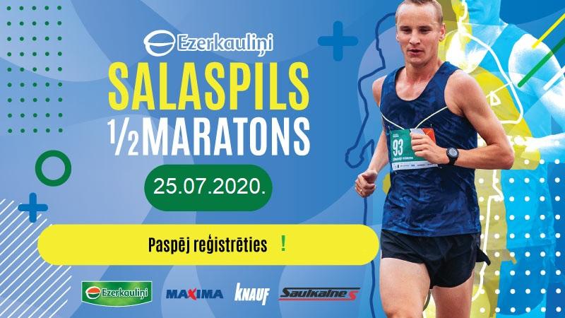 6. Ezerkauliņi Salaspils pilsētas pusmaratons 2020