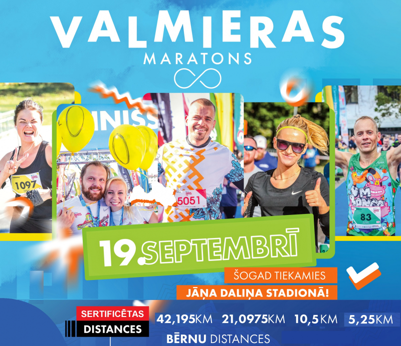 Valmieras maratons 2021