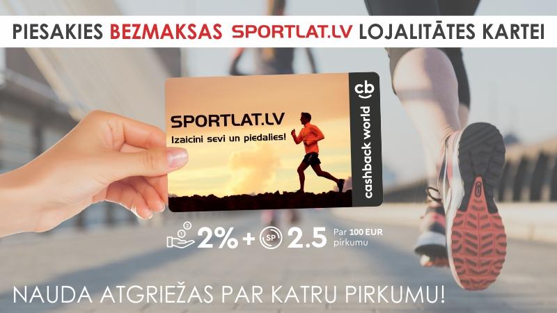 Sportlat lojalitātes CashBack karte